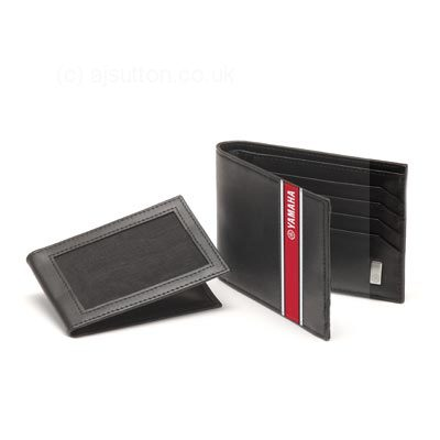 Yamaha leather wallet novelty items n09an00400b0 for Yamaha leather wallet
