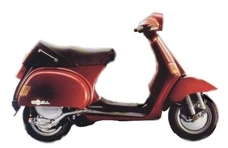 vespa cosa 2 200 spare parts 1993. Black Bedroom Furniture Sets. Home Design Ideas